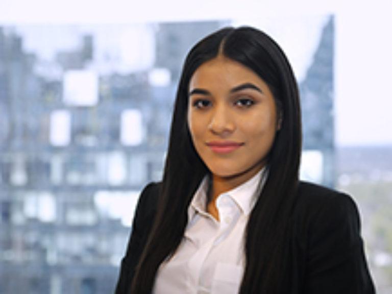 Staff member Brenda Navarro