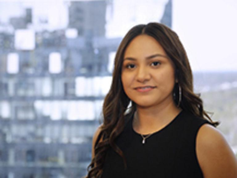 Staff member Maria J. Sandoval