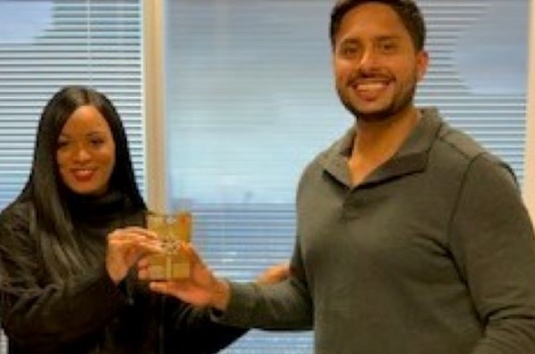 Calvin Smith Law Honors Ambery Nicole Grier as Employee of the Month for November