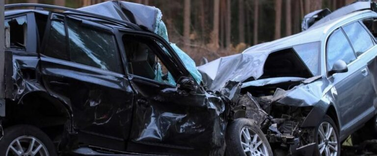 two-vehicle collision in Cobb County